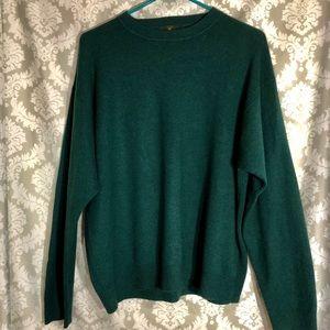 Club Room 100% Cashmere Sweater L